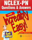 Nclex Pn Questions Answers Made Incredibly Easy  Book