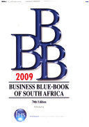 Business Blue book of South Africa 2009