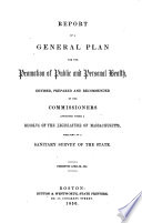 Report of a General Plan for the Promotion of Public and Personal Health