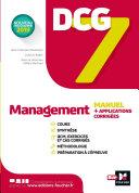 Pdf DCG 7 - Management Manuel et applications Telecharger