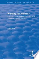 Working for Women?