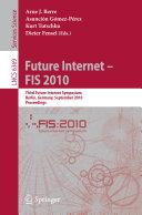 Future Internet   FIS 2010