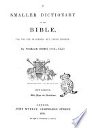 A Smaller Dictionary of the Bible