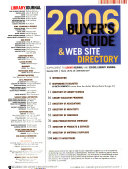 Buyer's Guide and Web Site Directory