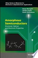 Amorphous Semiconductors