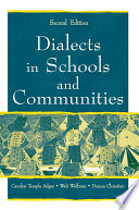 Dialects in Schools and Communities Book PDF