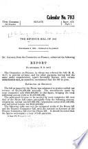 The Revenue Bill Of 1941