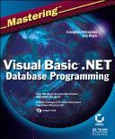 Mastering Visual Basic  NET Database Programming