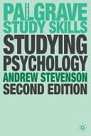 Studying Psychology