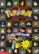 Official Pokemon Collector s Sticker Book