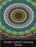 Shakti Adult Coloring Book