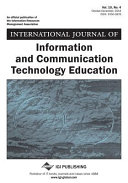 International Journal of Information and Communication Technology Education  IJICTE