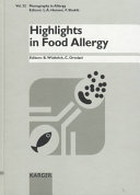 Highlights in Food Allergy