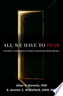 All We Have To Fear Book PDF
