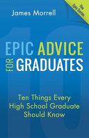 Epic Advice for Graduates banner backdrop
