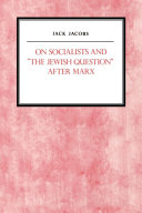 """On Socialists and """"the Jewish Question"""" After Marx"""