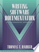 Writing Software Documentation