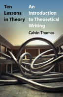 Ten Lessons in Theory