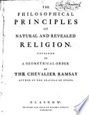 The Philosophical Principles of Natural and Revealed Religion
