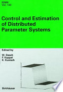 Control And Estimation Of Distributed Parameter Systems Book PDF