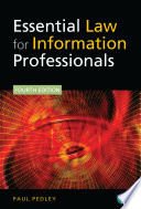 Essential Law for Information Professionals Book