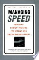 Managing Speed