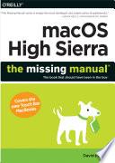 Macos High Sierra The Missing Manual
