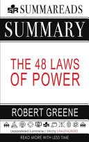 Summary of The 48 Laws of Power by Robert Greene