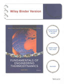 Fundamentals Of Engineering Thermodynamics 8e Binder Ready Version With Wileyplus Learning Space Card Set Book PDF