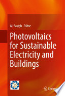 Photovoltaics for Sustainable Electricity and Buildings Book