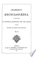 Chambers S Encyclopaedia Labrador Numidia Book