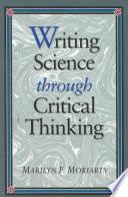 Writing Science Through Critical Thinking Book PDF