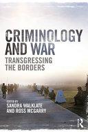 Criminology and War