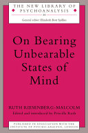 Pdf On Bearing Unbearable States of Mind