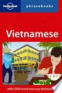 Vietnamese phrasebook -anglais-