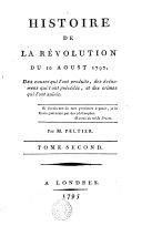 Histoire de la Révolution du 10 Aoust 1792 ... ebook