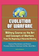 The Evolution Of Operational Art From Napoleon To The Present [Pdf/ePub] eBook