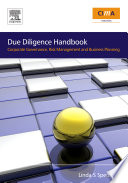 The Due Diligence Handbook