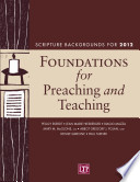Foundations for Preaching and Teaching Book PDF