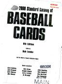 2000 Standard Catalog of Baseball Cards