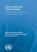 Social Justice and Gender Equality
