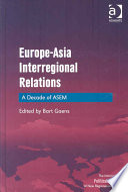Europe Asia Interregional Relations Book