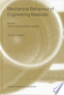 Mechanical Behavior of Engineering Materials Book