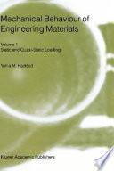Mechanical Behavior of Engineering Materials
