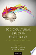 Sociocultural Issues In Psychiatry Book PDF