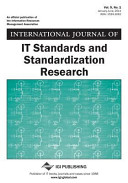 International Journal of It Standards and Standardization Research