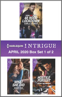 Harlequin Intrigue April 2020   Box Set 1 of 2