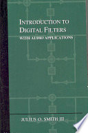 Introduction To Digital Filters Book PDF