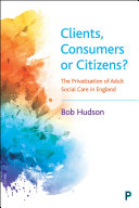 Clients  Consumers Or Citizens