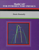 MathCAD for Introductory Physics
